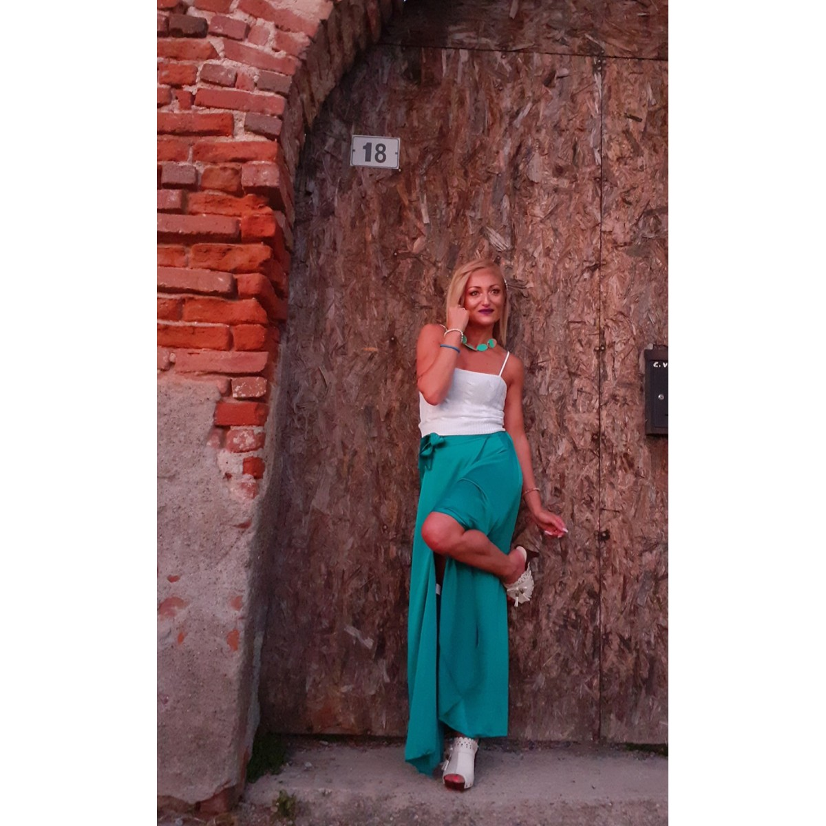 Gonna lunga a portafoglio | Simonetta