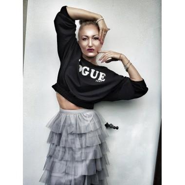 Felpa corta Vogue | Vogue
