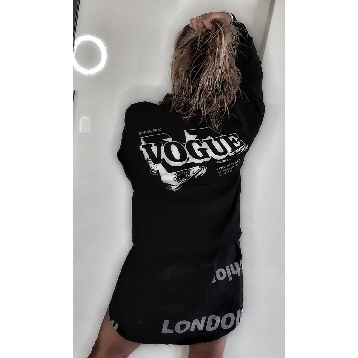 Maxi felpa Vogue | Voguemax