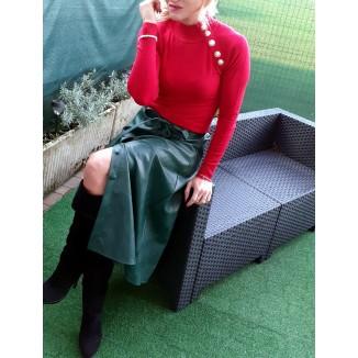 Maglioncino di lana con collo alto   Annie