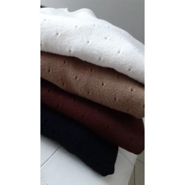 Maglioncino di lana traforato | Carly