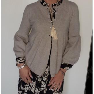 Maglione cardigan sciancrato   Sendy