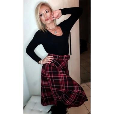 Gonna scozzese longuette | Claire