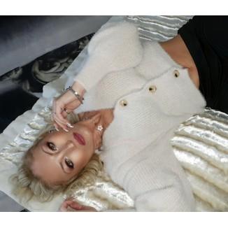 Maglione modello cardigan | Belen
