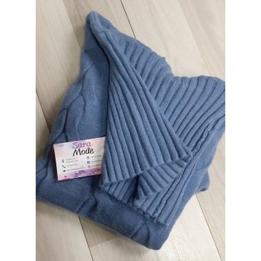 Maglione di lana a collo alto | Cassie