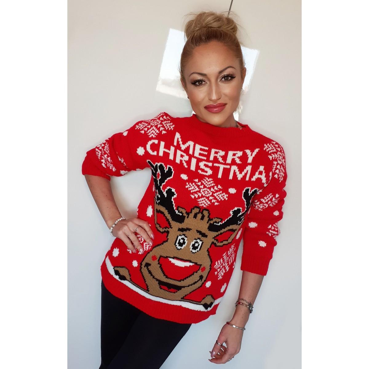 Maglione di lana Merry Christmas |
