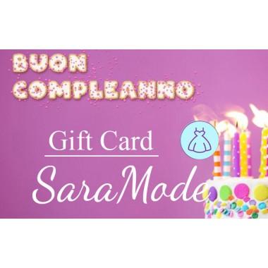Gift Card di Buon Compleanno