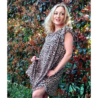 Abito corto fantasia animalier | Missy
