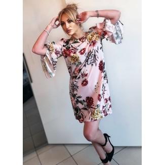 Abito corto stampa floreale | Emy