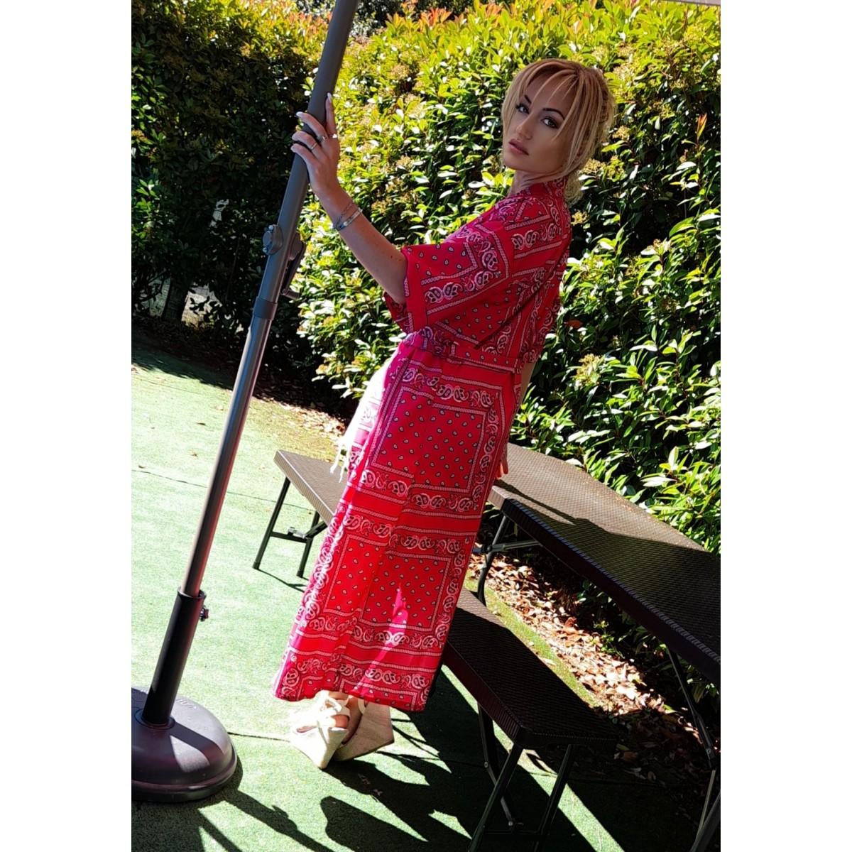 Kimono fantasia bandana   Ary