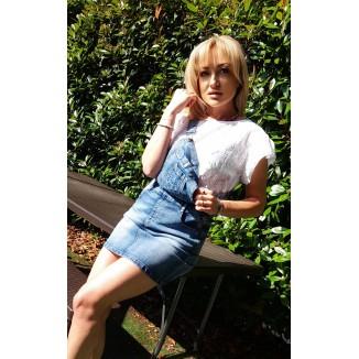 Salopette di jeans | Nell