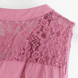 Camicetta blusa tinta unita | Jade