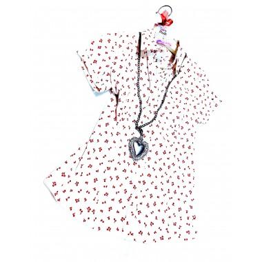 Camicia donna fantasia   Cherry