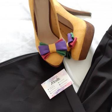 Scarpe scamosciate con tacco | Desy