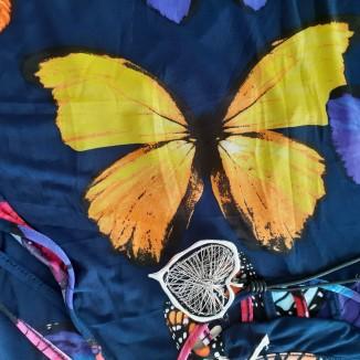 Abito lungo con farfalle | Butterfly