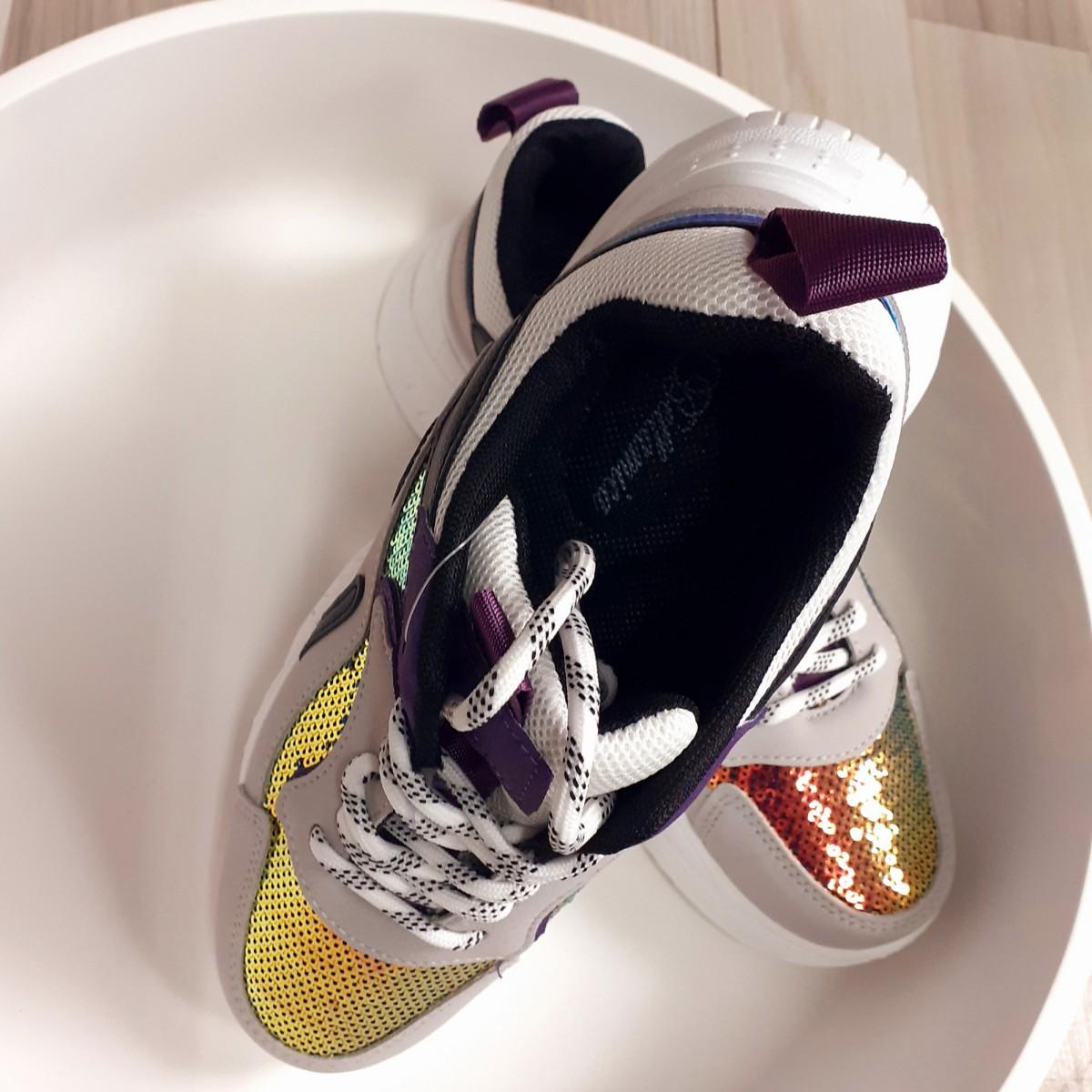 Sneakers con paillettes | Tati