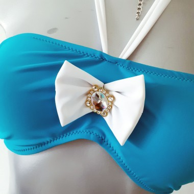Bikini a fascia con fiocco | Giulia