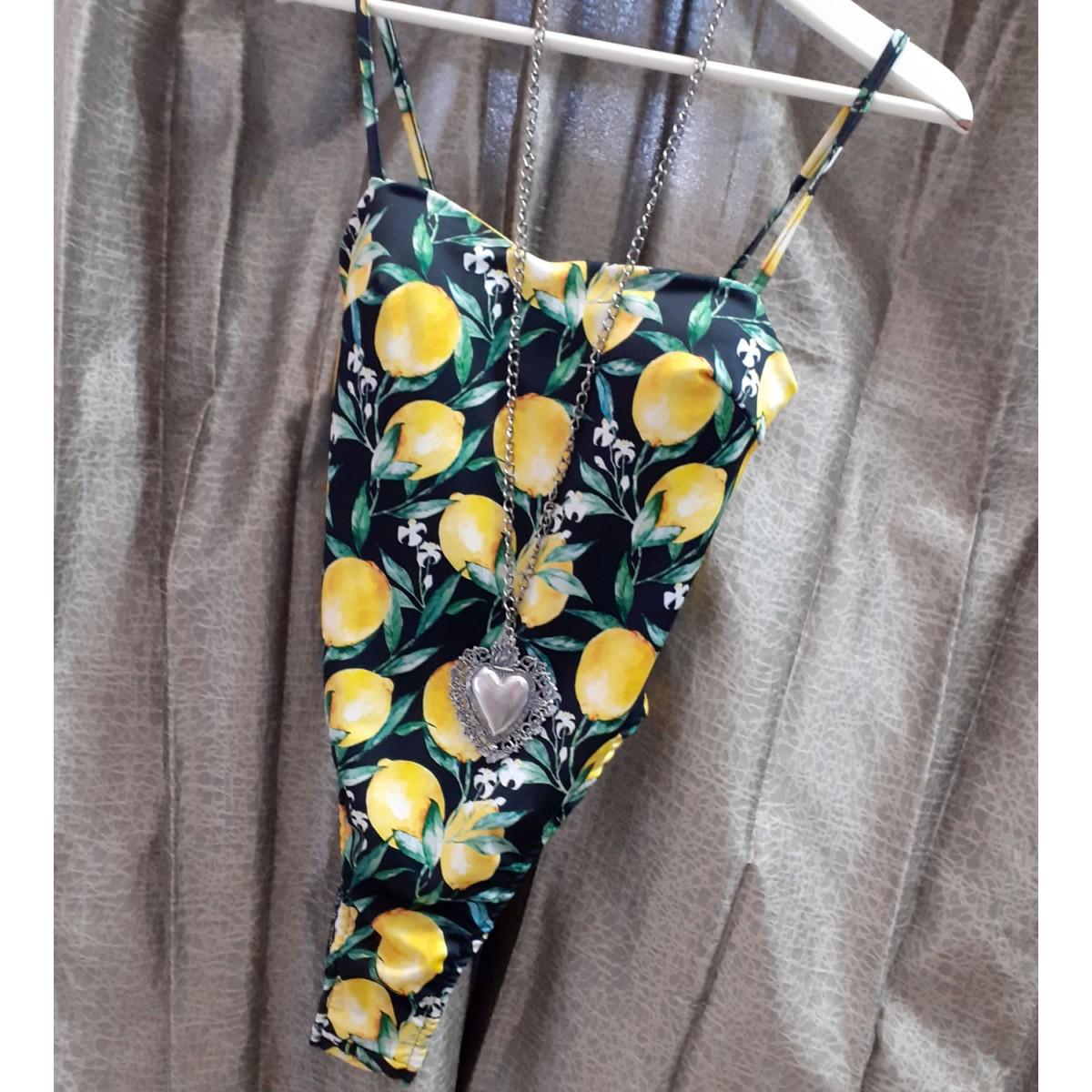 Body con stampa limoni | Lemon